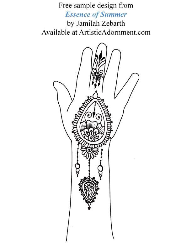 Free Henna Designs – Artistic Adornment