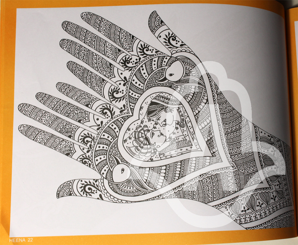 Henna Mehndi Design Book : New imported henna design books just in artistic adornment