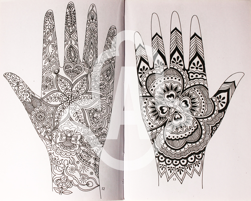 spesso New Imported Henna Design Books – Just In – Artistic Adornment OM87