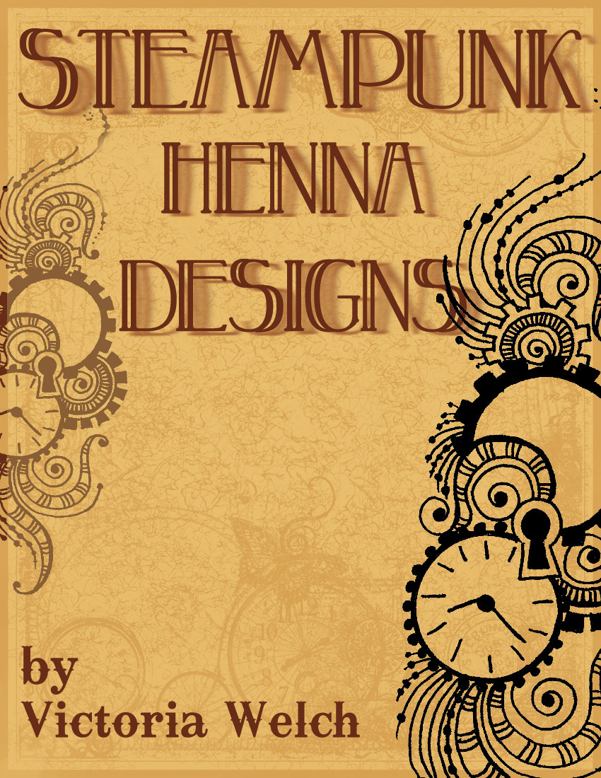 Steampunk Henna Designs by Victoria Welch